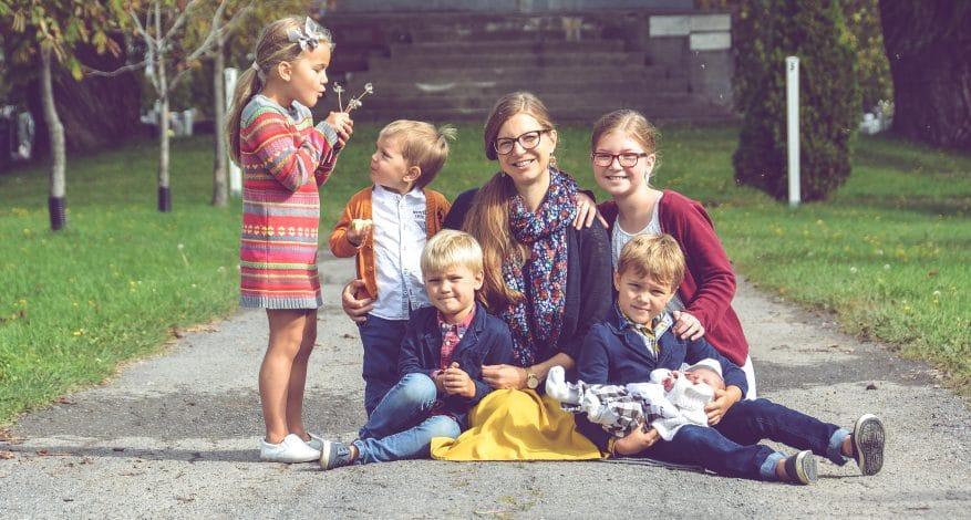 Famille Bourget copyright Ex Corde Schola
