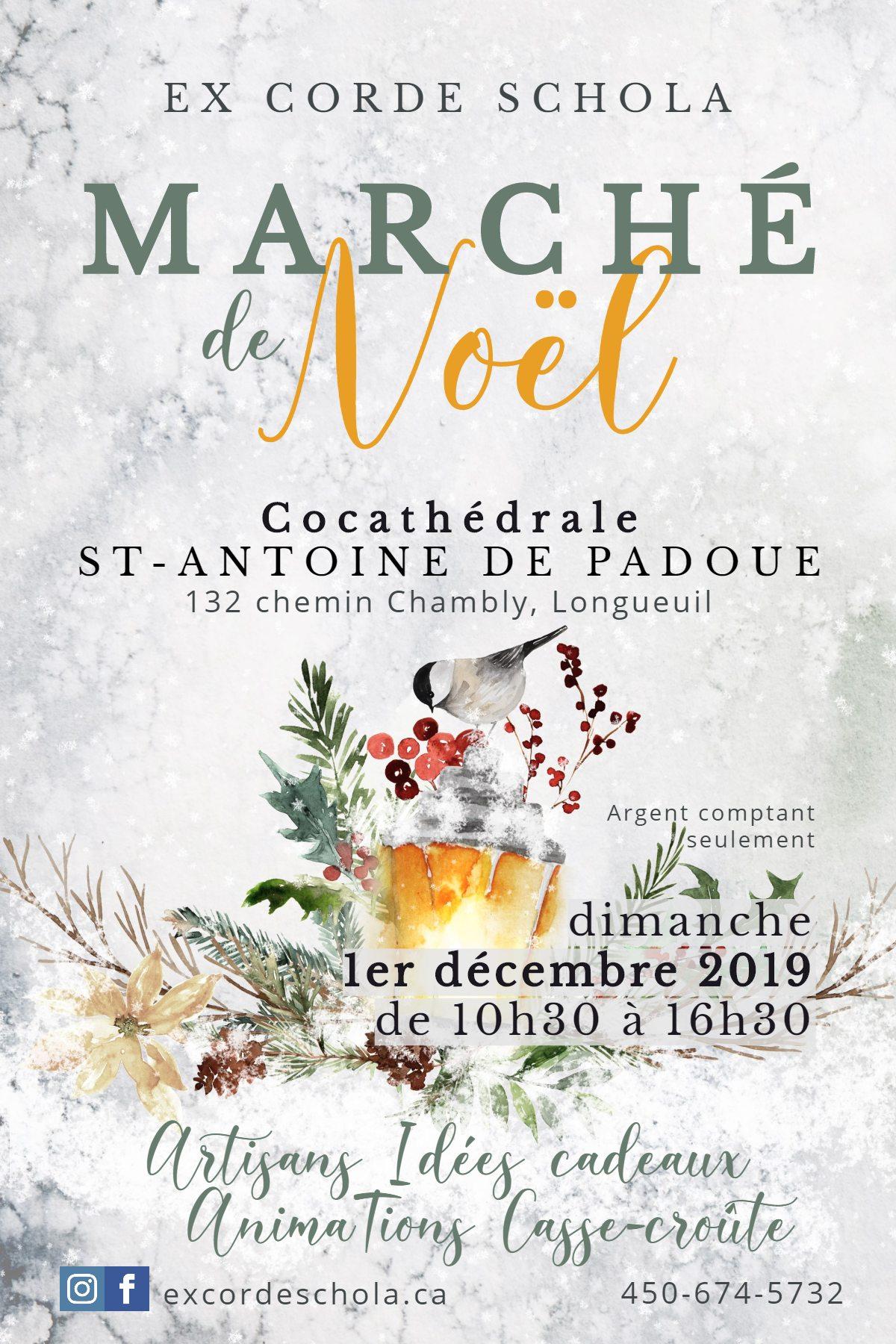 2019 Marché de Noel d'Ex Corde Schola